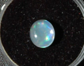 SCL Exciting Rainbow Color Mexican Opal Cabochons C543