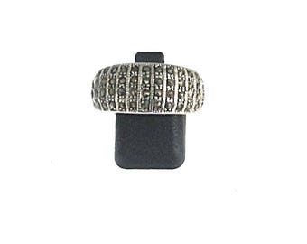 MARCASITE, Sterling Silver 925 solid silver ring ring, ring, Marcasite, silver jewelry, fashion, gift for her, natural stone ring