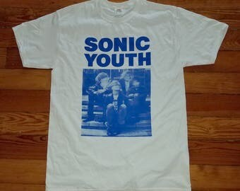 Sonic Youth Silkscreened Shirt