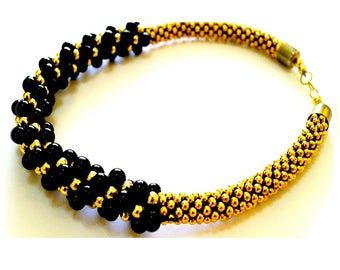 KRAFFITTI - Black Gold Choker