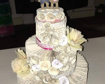 Wedding keepsake cake