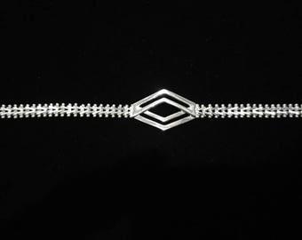 Sterling Silver .925 Mexico Bracelet for Girls Women