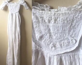 Antique christening gown victorian Edwardian