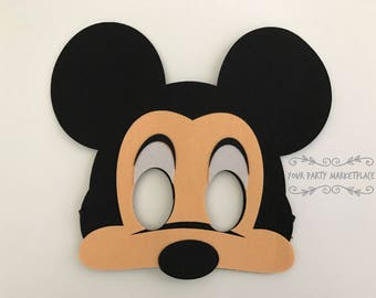 Mickey Mouse Masks, Mickey Mouse Clubhouse Party Favors, Mickey Mouse Party Favors, Mickey Mouse Banner, Mickey Mouse Party, Mickey Ears