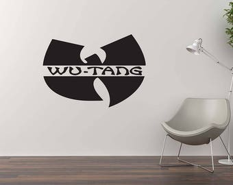 WUTANG Wall Decal / Home Decor / Wall Sticker / Wutang Art / Vinyl Wall Murals