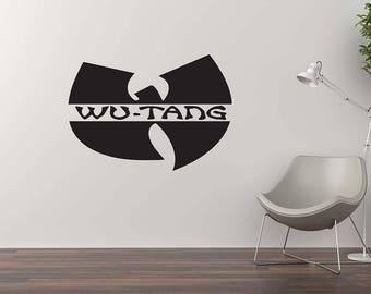 WUTANG Wall Decal / Home Decor / Wall Sticker / Wutang Art / Vinyl Wall Murals