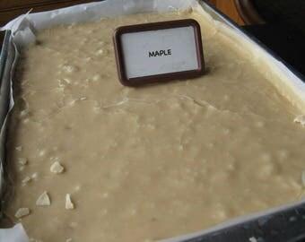 Maple Handmade Fudge Made in Vermont 1/2 lb pound