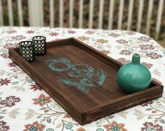 Cedar decorative/serving tray