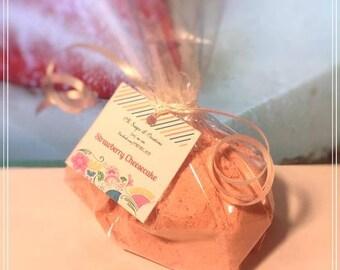 Strawberry Cheesecake Bath Fizzy Powder