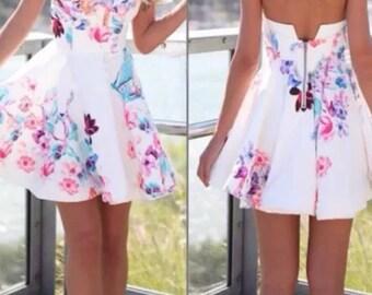 New floral summer dress