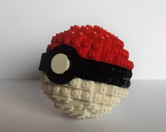 Power Sphere Lego® Art Inspired by Pokemon