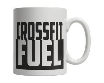 Crossfit Coffee Mug - Crossfit Fuel   Cute Mug   Cute Mug for Him   Cute Mug for Her   Custom Coffee Mug   Unique Coffee Mug   Mug Gift