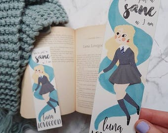Luna Lovegood | Harry Potter bookmark