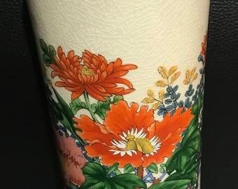 1970's Chinese Flower Vase