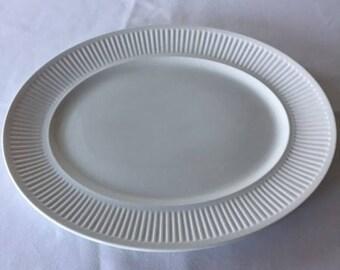 Vintage Athena Johnson Bros. Oval Serving Platter Dish Made in England
