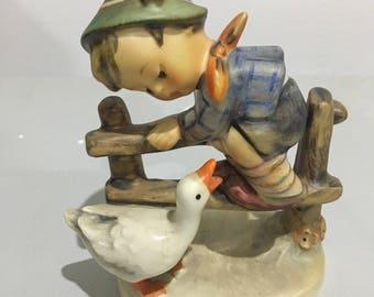 Hummel Figurine - Barnyard Hero - 195 2/0 - TMK-4