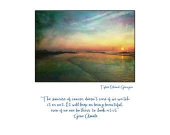 Peaceful Tybee Island Sunrise