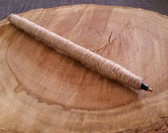 Rustic Pen - Twine - Wedding - Guest Book - Gift - Signing pen - Country Wedding