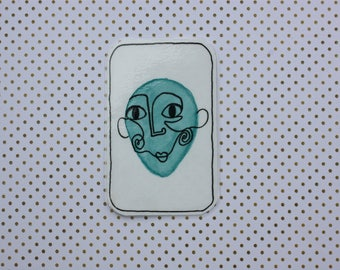 Trading cards: creepy characters