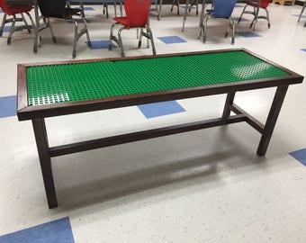 Redwood Duplo Lego Table