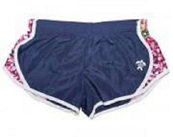 YOUTH Simply Southern Navy Daisy Athletic Shorts