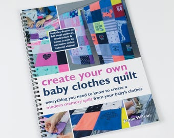 Memory Quilt Patterns, Baby Quilt Pattern, Onesie Blanket, Baby Clothes Quilt, Baby Quilt From Baby Clothes, Quilt Books Baby Quilts To Make