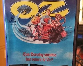 Return to Oz (1985) Movie VHS Disney VERY RARE
