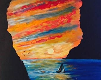 Cabo San Lucas oil painting