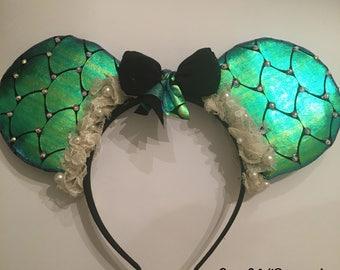 Ariel Inspired Disney Ears