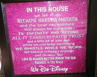 Disney Decal Frame