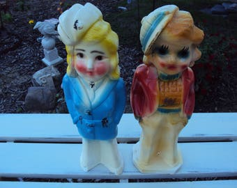 Chalkware Carnival Dolls, Chalkware Dolls, Antique Dolls, Antique Chalkware Doll, Vintage Chalkware, Vintage Dolls, Carnival Doll