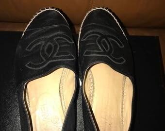 Size 6 Chanel espadrilles
