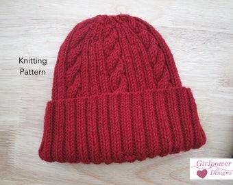 Ribbed hat pattern Etsy