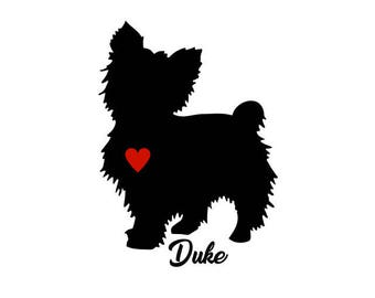 Maltese Decal, Personalize With Your Dog's Name, Maltese Sticker, Maltese Dog, Maltese Puppy Decal, Maltese Puppies, Toy Dog Decal