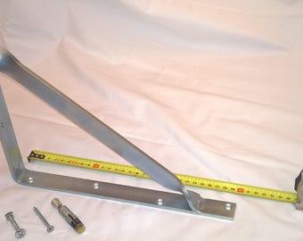 Shelf bracket, 295 x 245 mm.