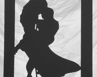 Tarzan Silhouette