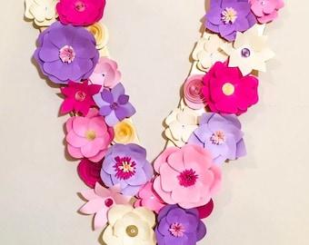 Paper flowers latter