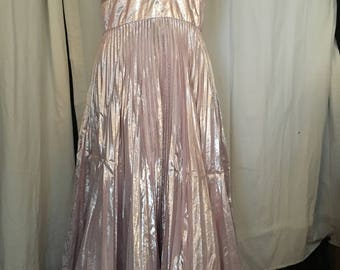 shining disco dress vintage