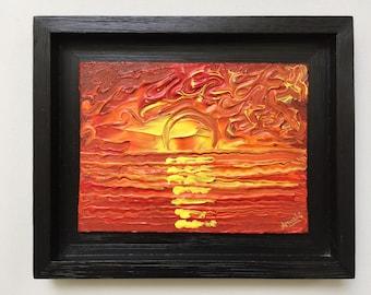 Sunset - Original Painting
