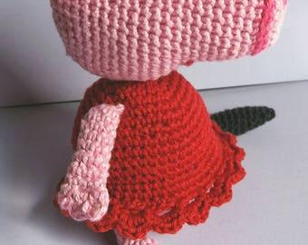 Amigurumi crocheted creatures 100% Handmade