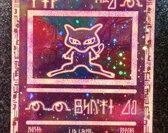 Rare Vintage Promo Mew Pokemon Card