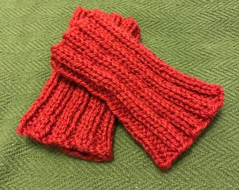1860s Wool Knitted Wristlets