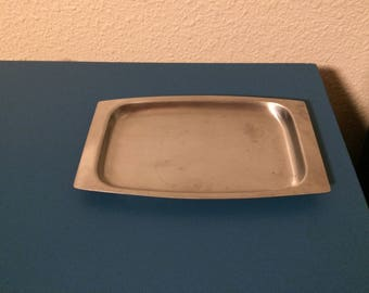 1960's Stainless Steel Tray, made in Japan