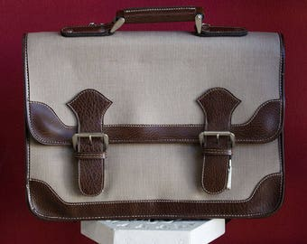 Original 70's Vintage Briefcase brand new