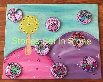 Fairy Garden Story Stone Set