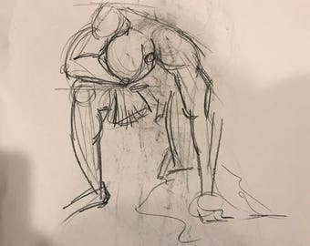 Male Figure Sketches