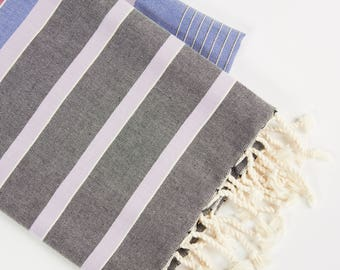 Premium Quality, Modal Collection Turkish Towel - Blue