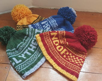 Knitted Harry Potter Beanies