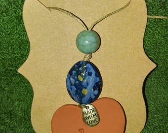 Clay Aromatherapy Necklace