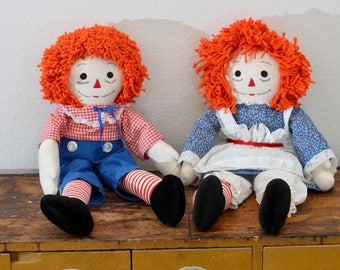 1984 Raggedy Ann and Andy